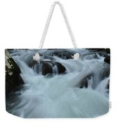 Rushing Waters Weekender Tote Bag