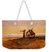 Russell Charles Marion Invocation To The Sun Weekender Tote Bag