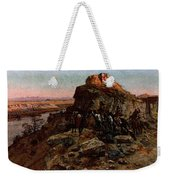 Russell Charles Marion Planning The Attack Weekender Tote Bag