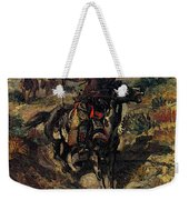 Russell Charles Marion The Scouting Party Weekender Tote Bag