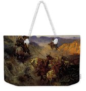 Russell Charles Marion The Slick Ear Weekender Tote Bag