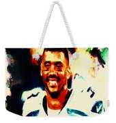 Russell Wilson 02b Weekender Tote Bag
