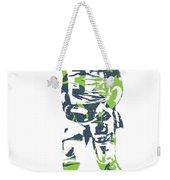 Russell Wilson Seattle Seahawks Pixel Art 11 Weekender Tote Bag