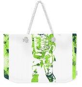 Russell Wilson Seattle Seahawks Water Color Art 2 Weekender Tote Bag