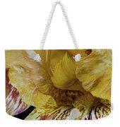 Russet And Umber Iris Weekender Tote Bag