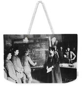 Russia: Students, 1917 Weekender Tote Bag