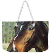 Russian Horse Weekender Tote Bag