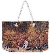 Russian Hunting Weekender Tote Bag