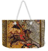 Russian Icon: Demetrius Weekender Tote Bag