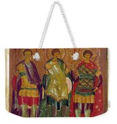 Russian Icon: Saints Weekender Tote Bag