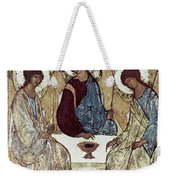 Russian Icons: The Trinity Weekender Tote Bag