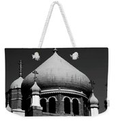 Russian Orthodox Church Bw Weekender Tote Bag