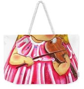 Russian Roly Poly Doll Music Doll Weekender Tote Bag