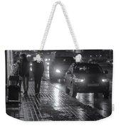 Russian Street Scene At Night 2015 Weekender Tote Bag
