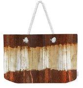 Rust 04 Weekender Tote Bag