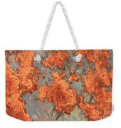 Rust Art Weekender Tote Bag