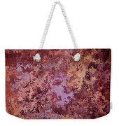 Rust Autumn Weekender Tote Bag