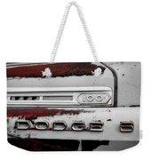 Rust Dodge 6 Selective Color Weekender Tote Bag