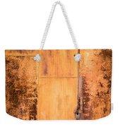Rust On Metal Texture Weekender Tote Bag