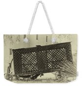 Rusted Horse Drawn Paddy Wagon Weekender Tote Bag