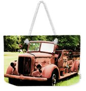 Rusted Mack Fire Engine Weekender Tote Bag