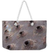 Rusted Pattern Weekender Tote Bag
