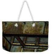 Rusted Steel Support Structure Weekender Tote Bag