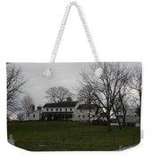 Rustic Amish Farmstead Weekender Tote Bag