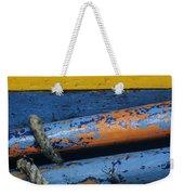 Rustic Boat Weekender Tote Bag