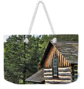Rustic Farmhouse At Old World Wisconsin Weekender Tote Bag