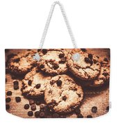 Rustic Kitchen Cookie Art Weekender Tote Bag