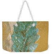 Rustic Leaf Weekender Tote Bag