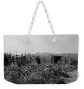 Rustic Montana View Weekender Tote Bag