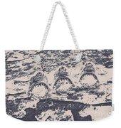 Rustic Nautical Artwork Weekender Tote Bag