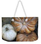 Rustic Pumpkins Weekender Tote Bag