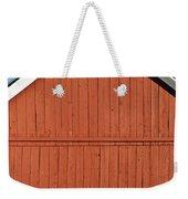Rustic Red Barn Weekender Tote Bag
