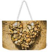 Rustic Rock Romance Weekender Tote Bag