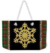 Rustic Snowflake-jp3692 Weekender Tote Bag