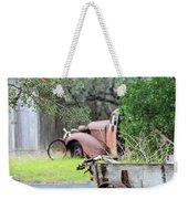 Rustic Truck Weekender Tote Bag