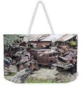 Rusting Antique Cars Weekender Tote Bag
