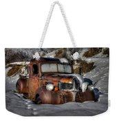 Rusting In Winter Weekender Tote Bag
