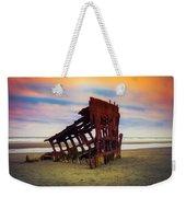 Rusting Shipwreck Weekender Tote Bag