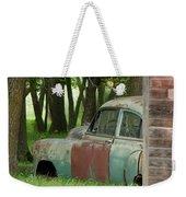 Rustmobile And Shack Weekender Tote Bag