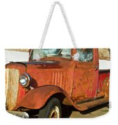 Rusty Chevrolet Pickup Truck 1934 Weekender Tote Bag