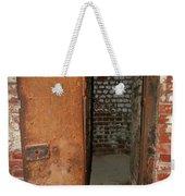 Rusty Door At Ohio Prison Weekender Tote Bag