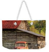 Rusty Ford At The Barn Weekender Tote Bag