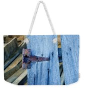 Rusty Hinge In The Blue Of The Evening Weekender Tote Bag