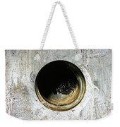 Rusty Hole Weekender Tote Bag