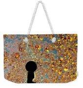 Rusty Key-hole Weekender Tote Bag