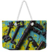 Rusty Keys Weekender Tote Bag